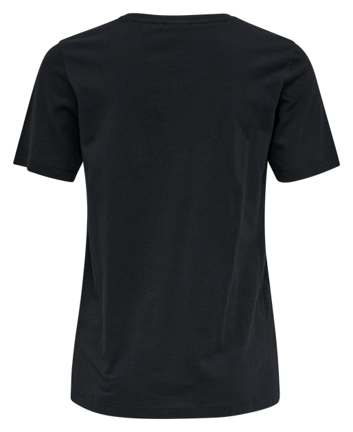 hmlGLORIA T-SHIRT , BLACK, packshot