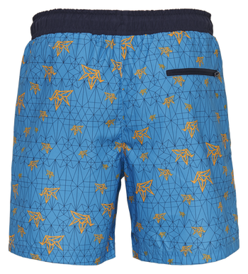 hmlEVAN BOARD SHORTS, BRILLIANT BLUE, packshot