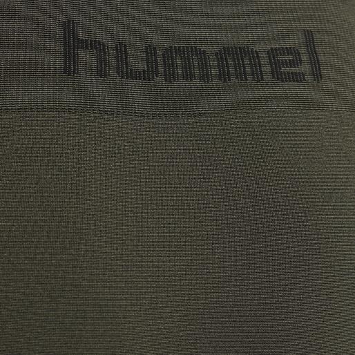 hmlLUKA SEAMLESS TIGHTS, OLIVE NIGHT, packshot