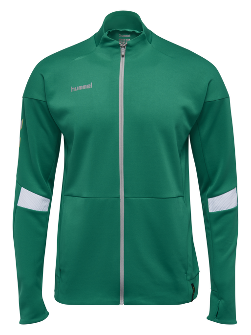TECH MOVE POLY ZIP JACKET, SPORTS GREEN, packshot