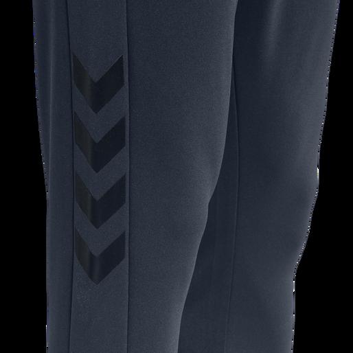 hmlLEGACY POLY TAPERED PANTS, BLUE NIGHTS, packshot