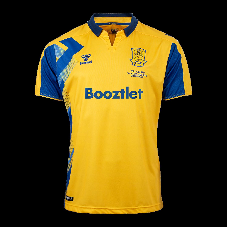hummel Brøndby Legendetrøje 2020 gul Unisex