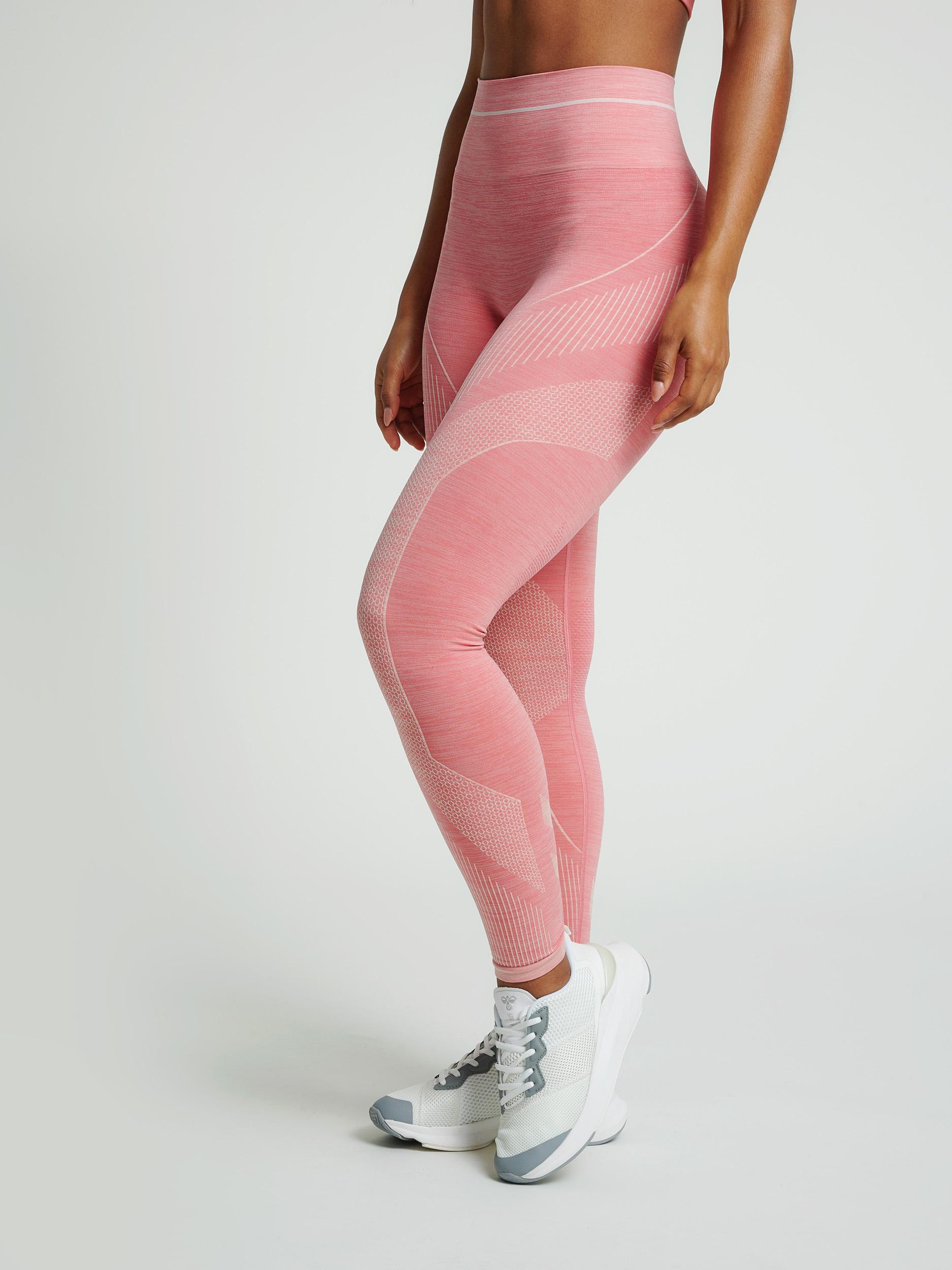hummel Seamless tights HmlJOY lyserød Dame