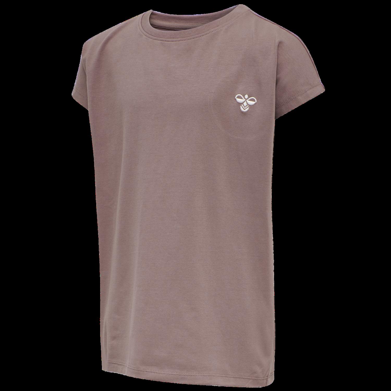 hummel T-shirt af økologisk bomuldsblanding HmlDOCE lilla Pige